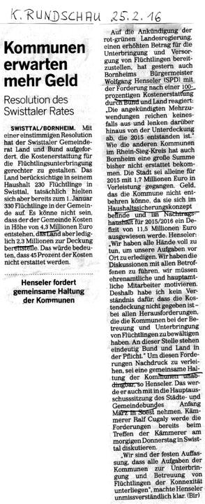 K.Rundschau_25.2.16 Kommunen erwarte mehr Geld_P6193431